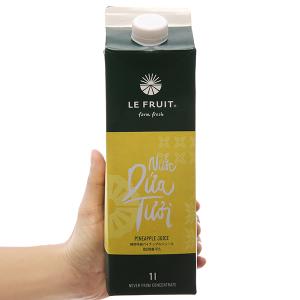 Nước ép dứa Le Fruit 1L