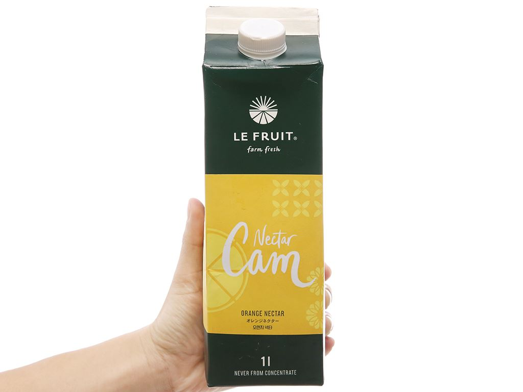 Nectar cam Le Fruit 1L 3
