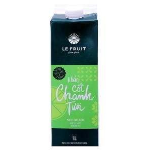 Nước cốt chanh tươi Le Fruit 1 lít