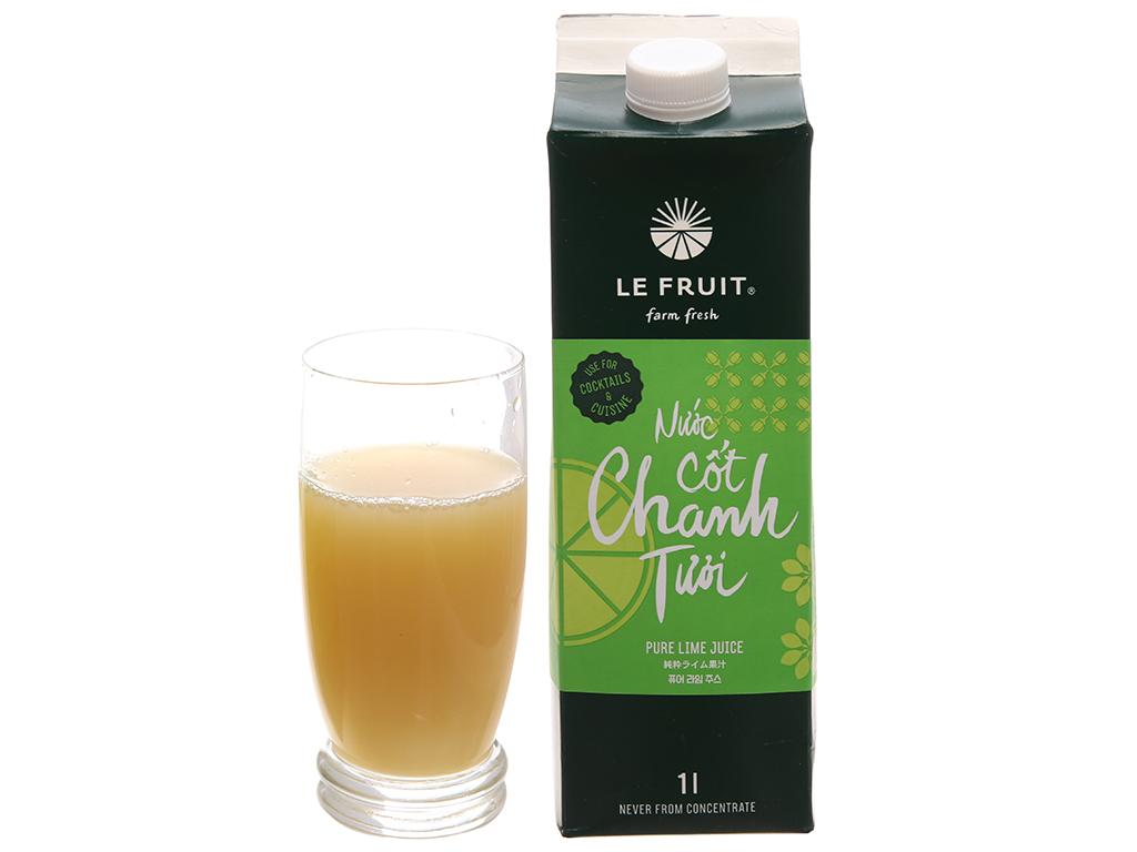 Nước cốt chanh tươi Le Fruit 1 lít 7