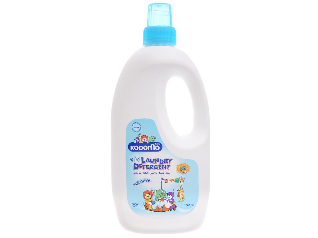 Dung dịch giặt tẩy cho bé Kodomo Extra Care dịu nhẹ chai 1 lít 1