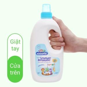 Dung dịch giặt tẩy cho bé Kodomo Extra Care dịu nhẹ chai 1 lít