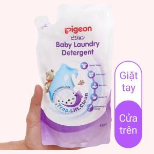 Nước giặt cho bé Pigeon túi 450ml