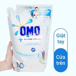 Nước giặt OMO dịu nhẹ trên da túi 1.9 lít