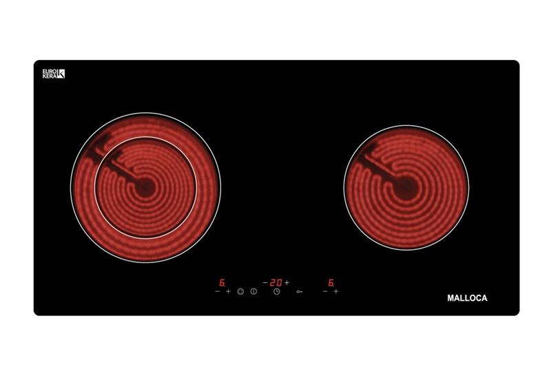 Bếp hồng ngoại đôi Malloca MH-02R