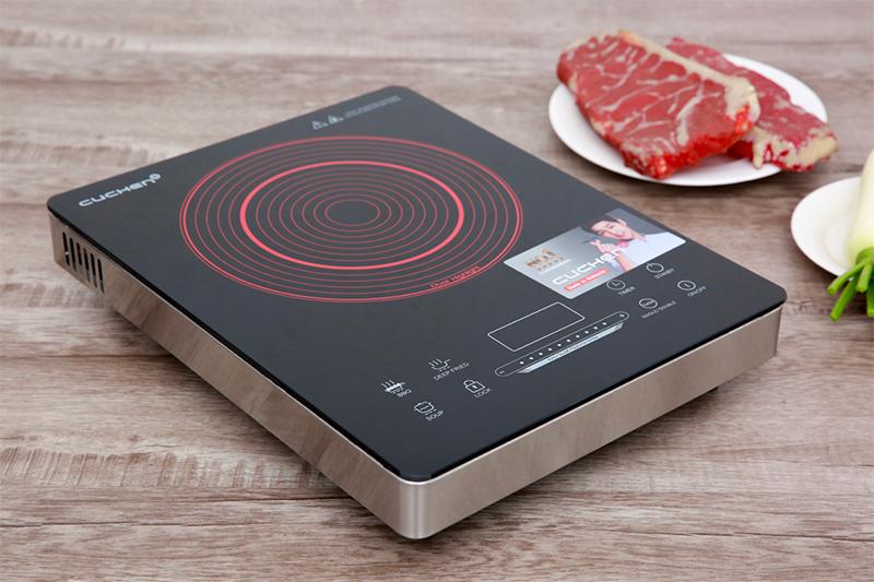Bếp hồng ngoại Cuchen CHR-F161VN- thiết kế đẹp mắt