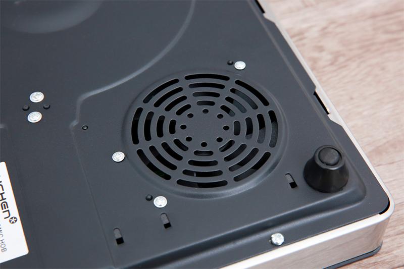 Bếp hồng ngoại Cuchen CHR-F161VN - quạt tản nhiệt lớn
