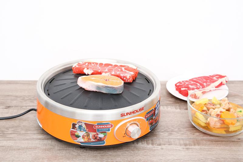 Thông minh, tiện lợi, ấn tượng - Bếp hồng ngoại Sunhouse SHD4668