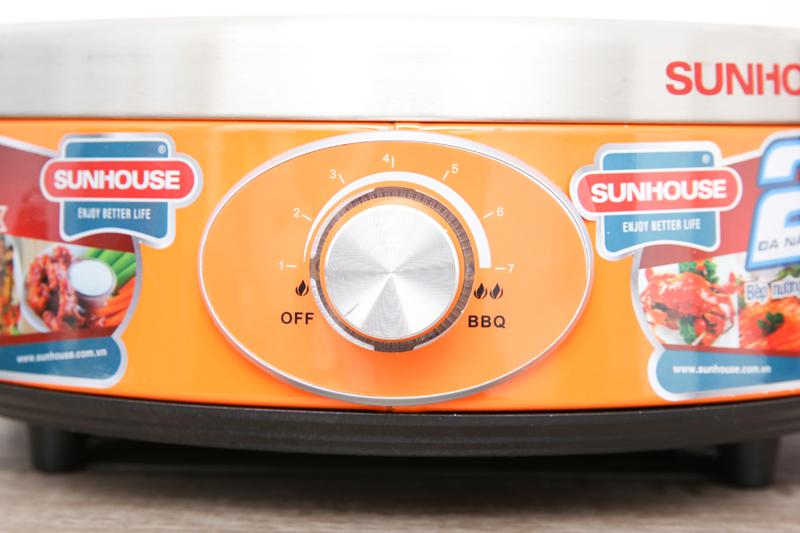 Dễ dùng - Bếp hồng ngoại Sunhouse SHD4668
