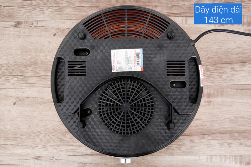 Tản nhiệt hiệu quả - Bếp hồng ngoại Sunhouse SHD4668