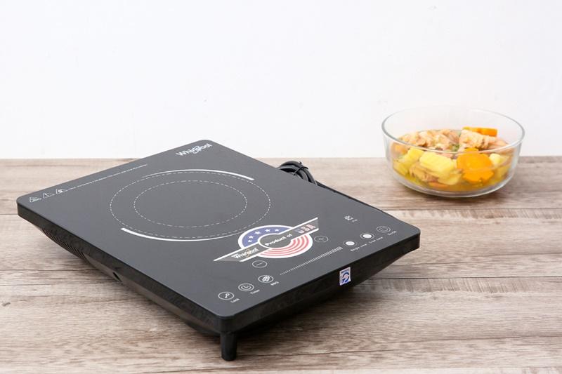 Bếp hồng ngoại Whirlpool thiết kế gọn đẹp, chắc chắn - Bếp hồng ngoại Whirlpool ACT209/BLV
