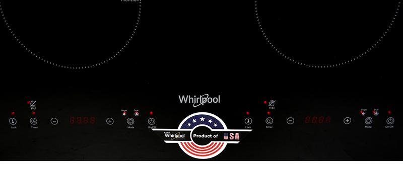 Dễ dùng - Bếp hồng ngoại đôi Whirlpool ACT752/BLV