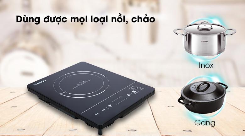 Bếp hồng ngoại Rapido RC2000ES - Không kén nồi nấu