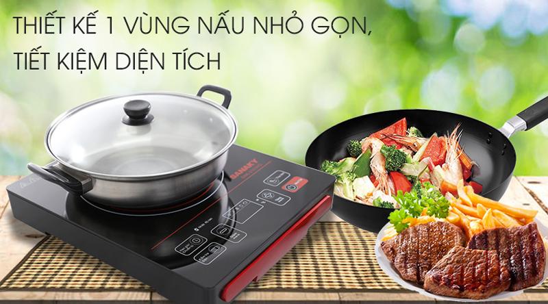 Thiết kế gọn đẹp - Bếp hồng ngoại Sanaky SNK-2101HG