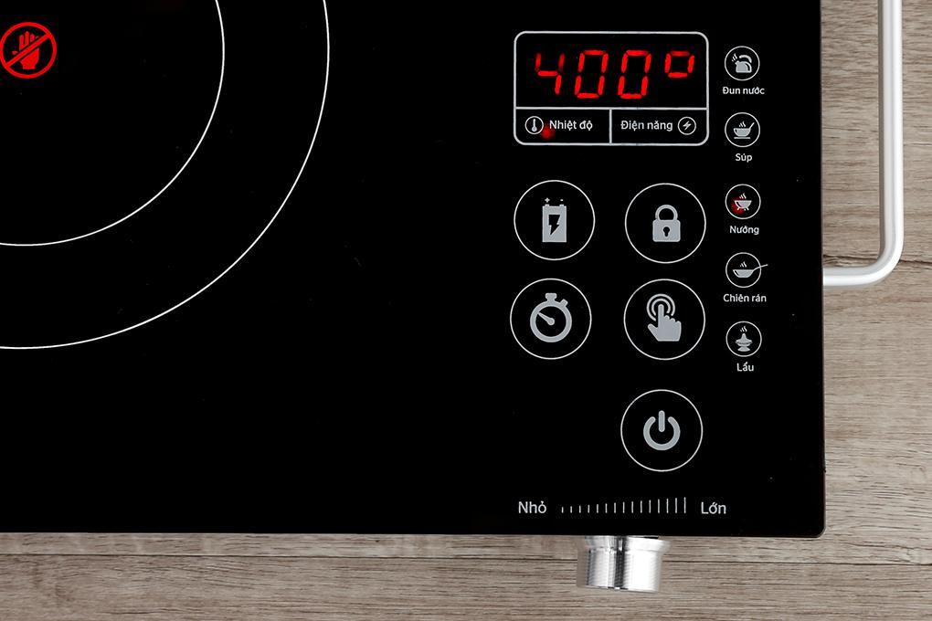 Chế độ nấu bếp hồng ngoại Sunhouse SHD 6017