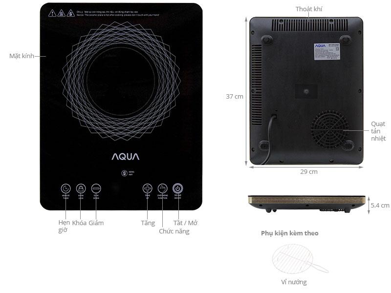 Thông số kỹ thuật Bếp hồng ngoại Aqua ACC-VM1000