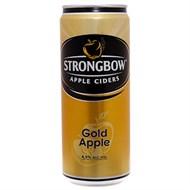 Nước táo lên men Ciders Strongbow Gold Apple Sleek lon 330ml