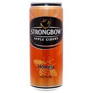 Nước táo lên men Ciders Strongbow Honey Sleek lon 330ml