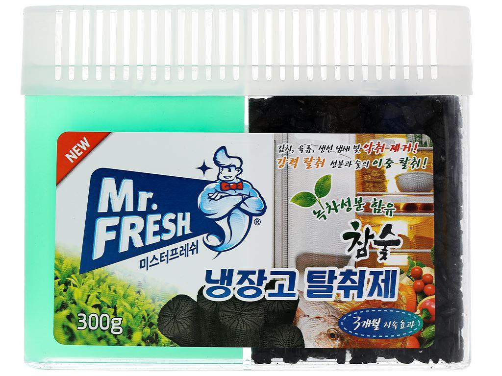 Gel khử mùi tủ lạnh Mr Fresh than hoạt tính 300g 1