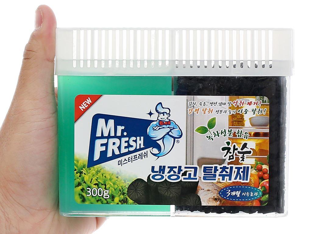 Gel khử mùi tủ lạnh Mr Fresh than hoạt tính 300g 4