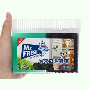 Gel khử mùi tủ lạnh Mr Fresh than hoạt tính 300g