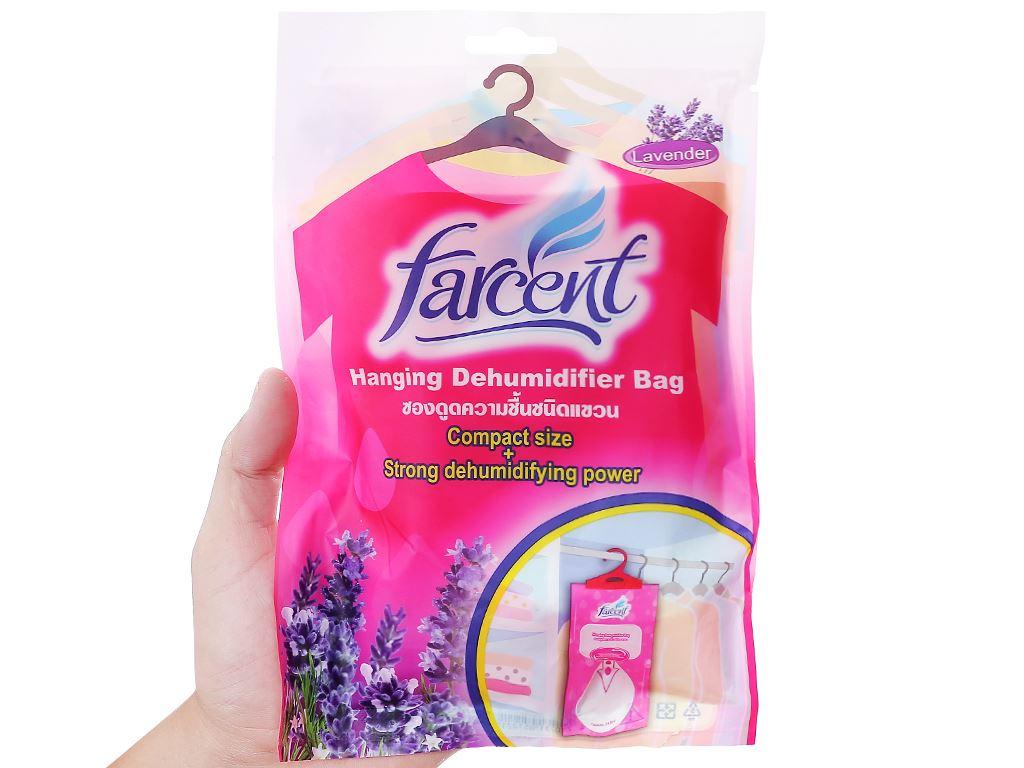 Túi hút ẩm Farcent hương hoa oải hương 200g 3