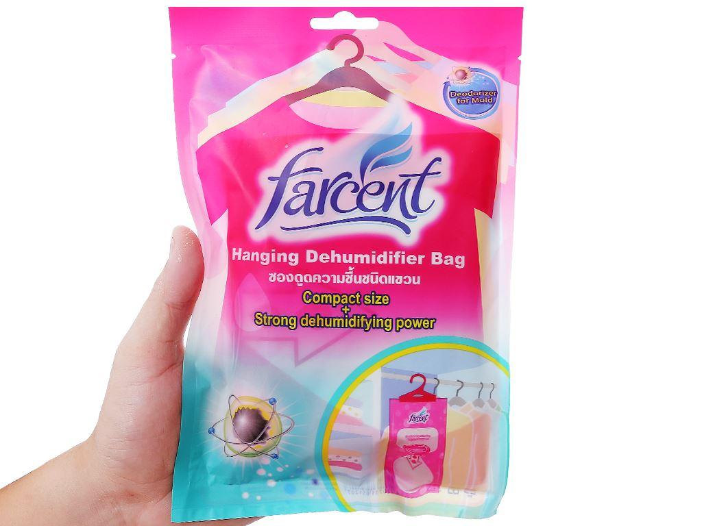 Túi hút ẩm Farcent khử mùi nấm mốc 200g 3