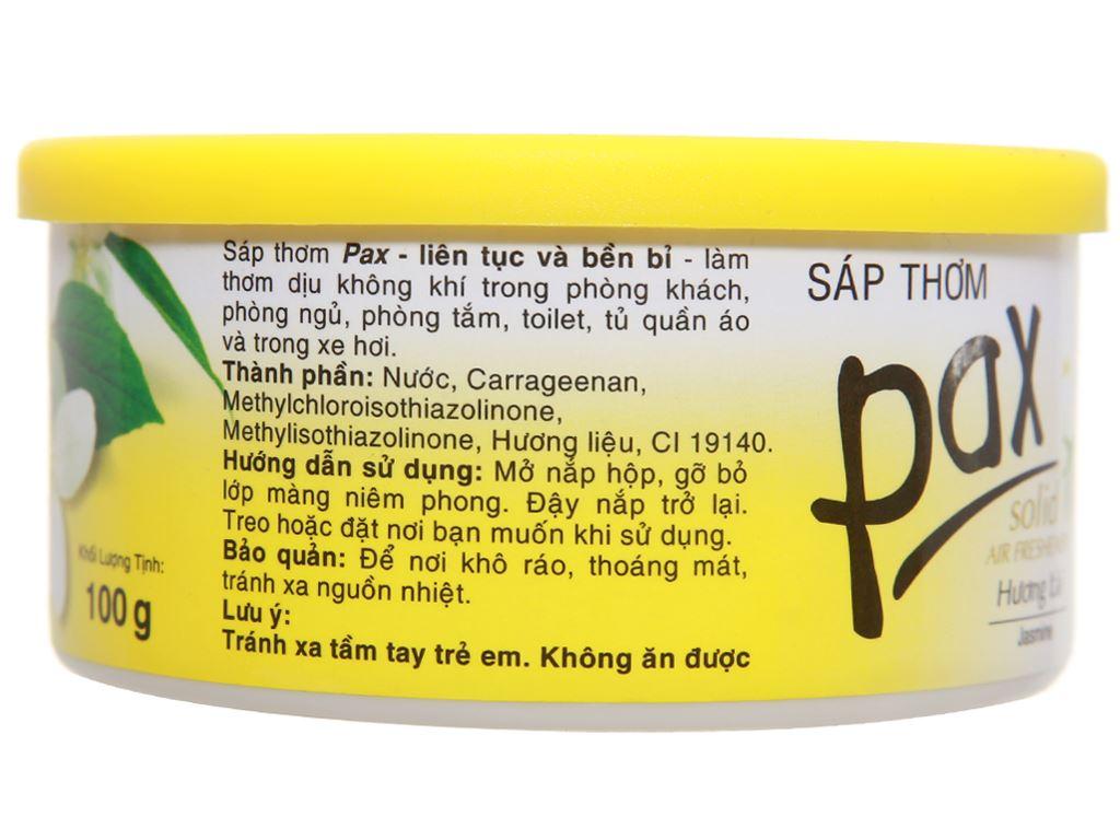 Sáp thơm Pax hương lài 100g 3