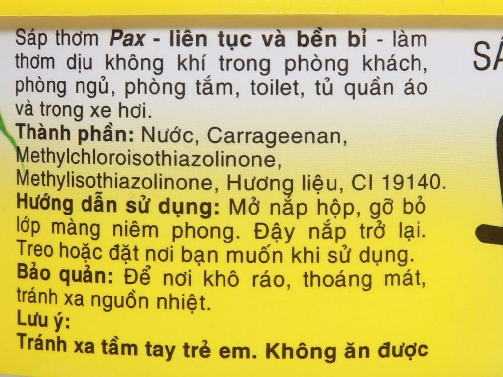 Sáp thơm Pax hương lài 100g 4