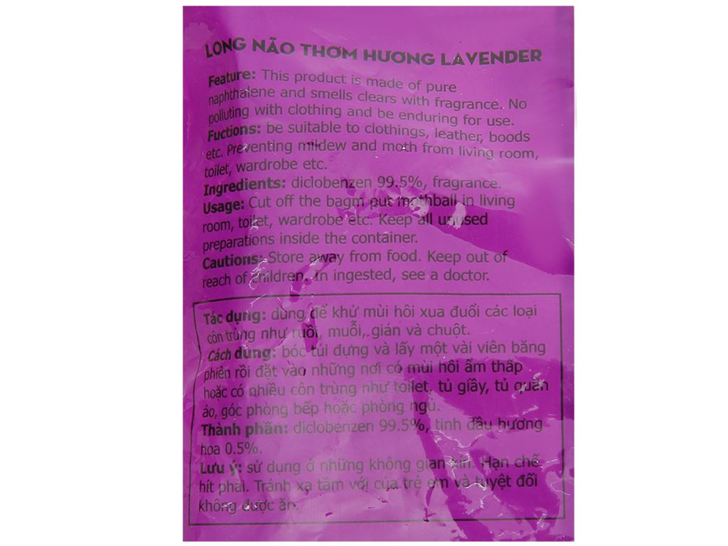 Long não Glade hương lavender 120g 3