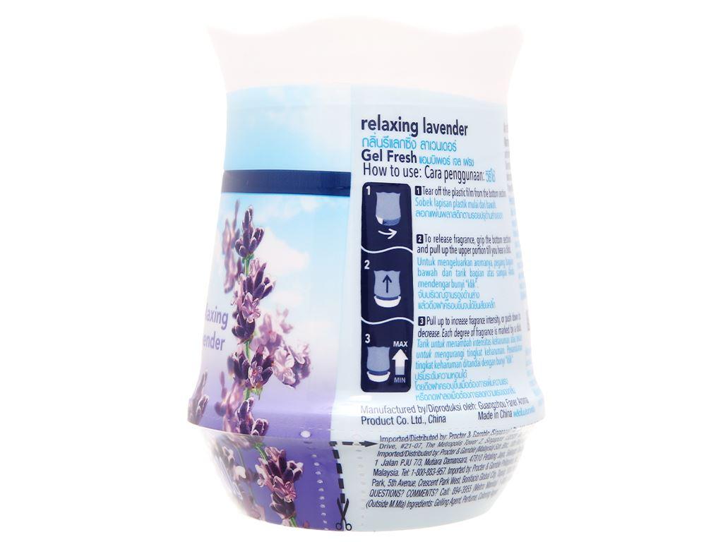 Bộ 2 hộp sáp thơm Ambi Pur hương lavender 180g 4
