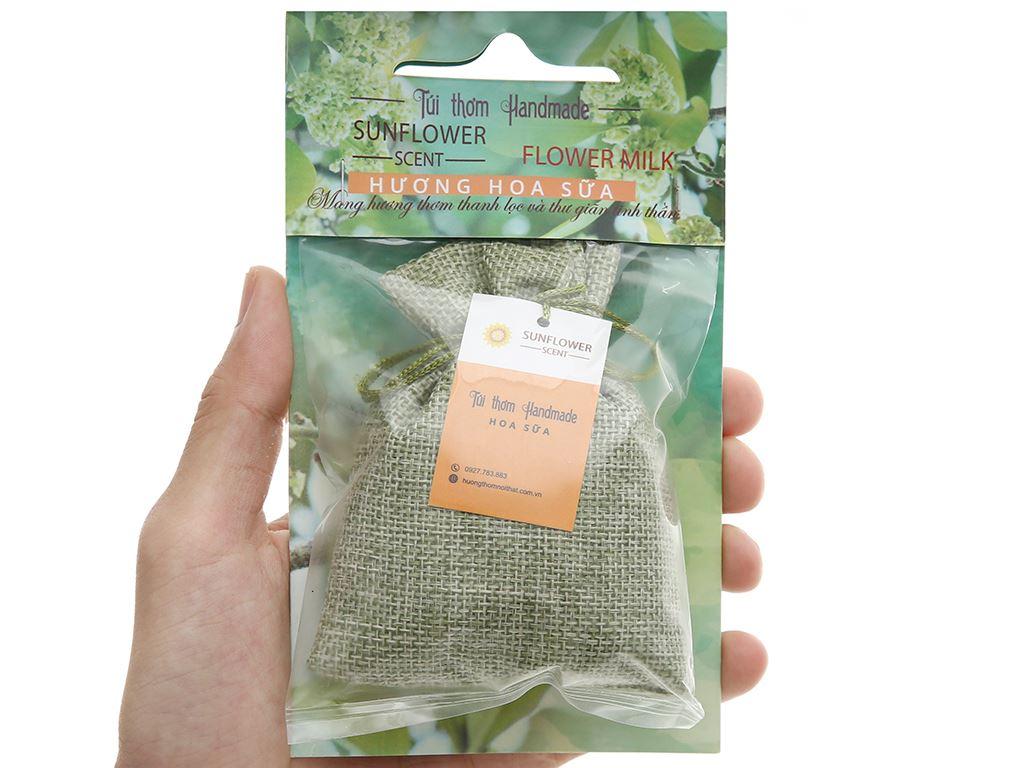 Túi thơm Sunflower hương hoa sữa 30g 4