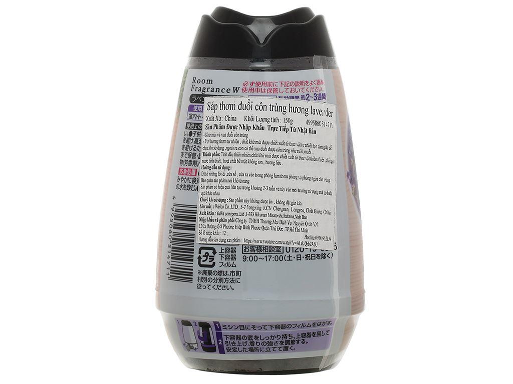 Sáp thơm Welco hương lavender 150g 2