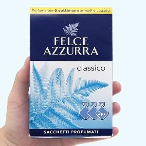 Túi thơm đậm đặc Felce Azzurra hương cổ điển 36g (12g x 3 túi)