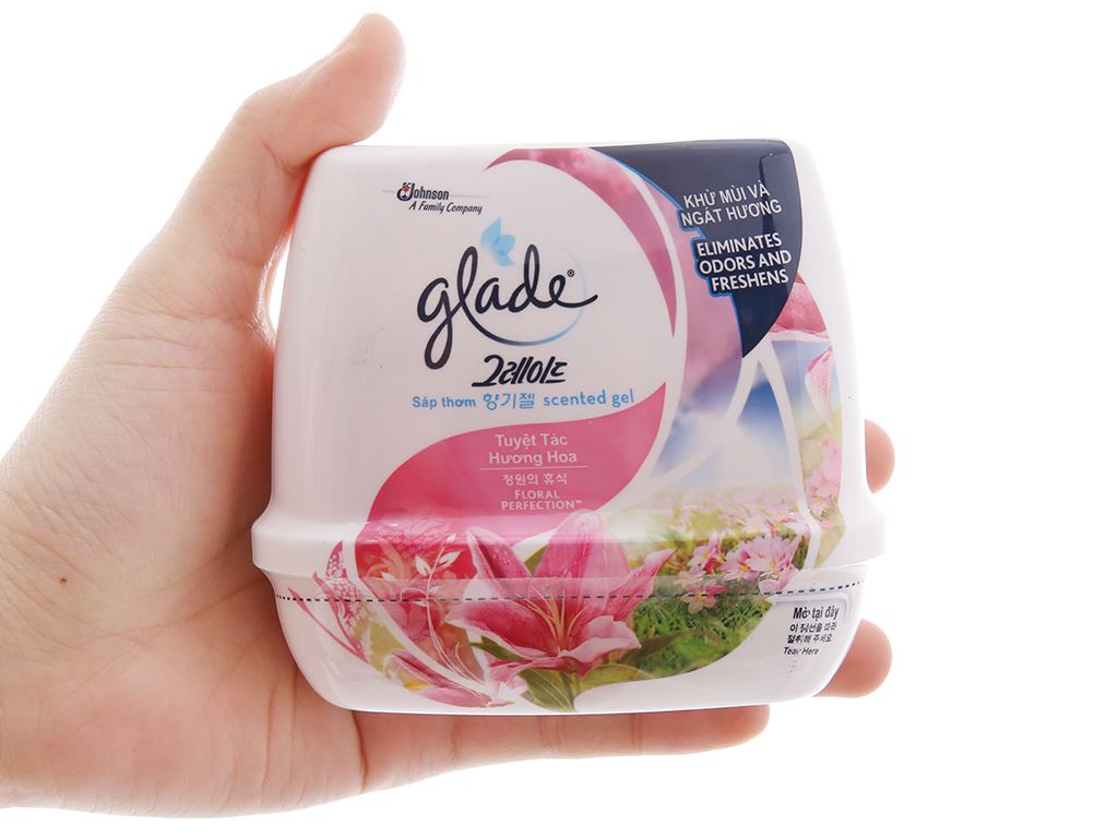Sáp thơm Glade hương hoa Lily 180g 4