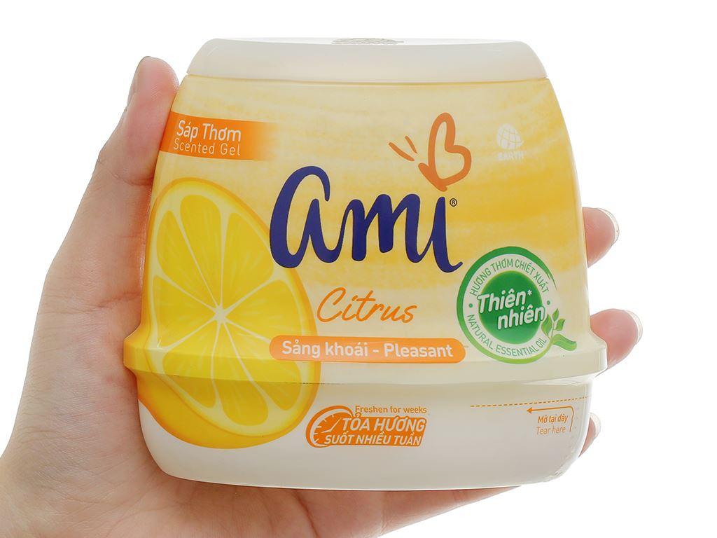 Sáp thơm Ami hương chanh citrus 200g 6
