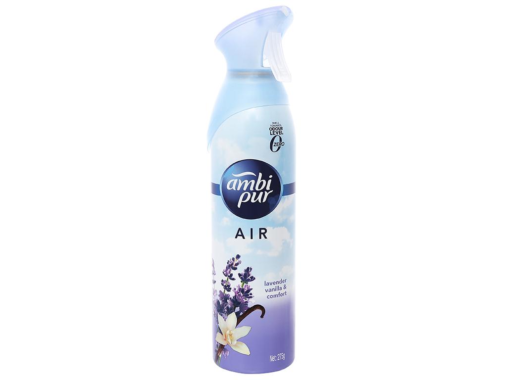 Xịt phòng Ambi Pur Air hương vani và hoa oải hương 275g 1