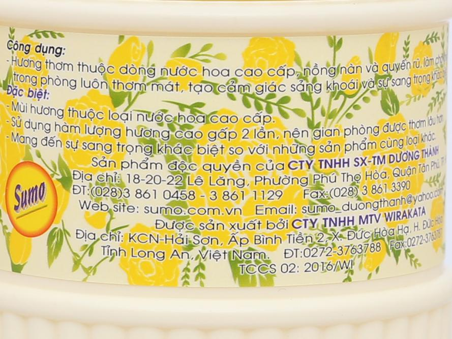 Nước hoa xịt phòng Sumo hương charming 400ml 4