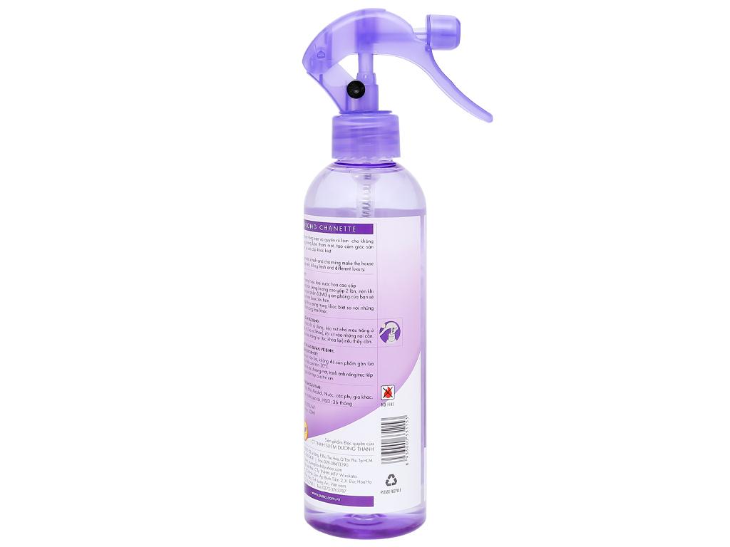 Nước hoa xịt phòng Sumo hương chanette 350ml 2