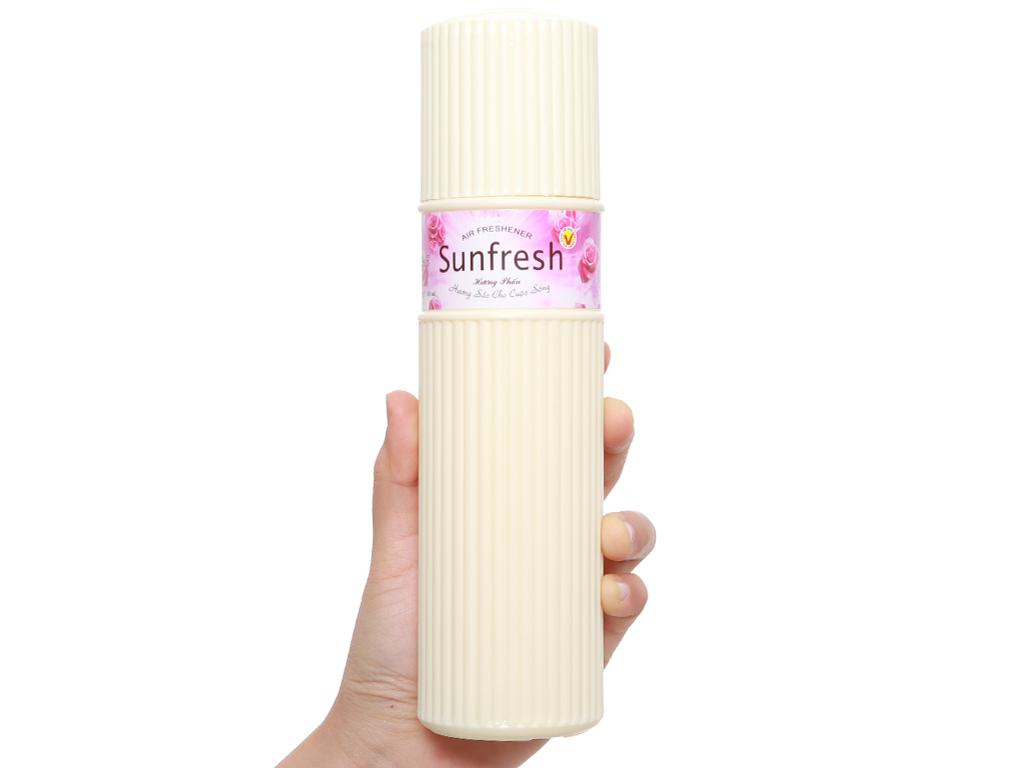 Nước hoa xịt phòng Sunfresh hương phấn 380ml 4