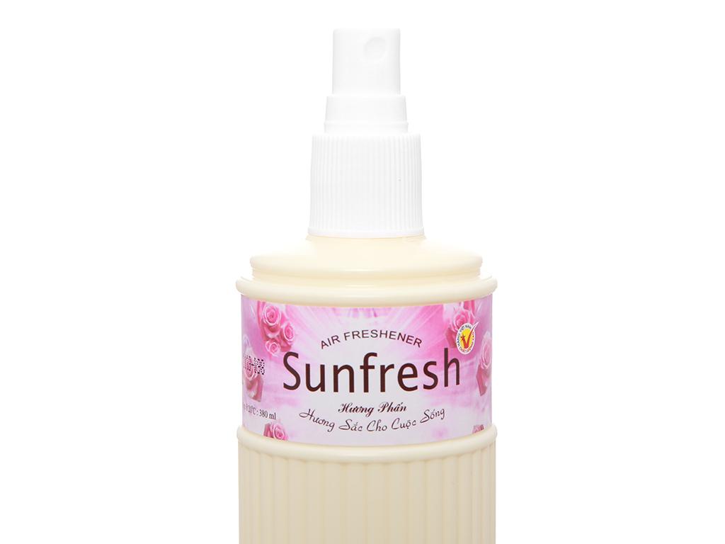 Nước hoa xịt phòng Sunfresh hương phấn 380ml 5
