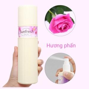 Nước hoa xịt phòng Sunfresh hương phấn 380ml