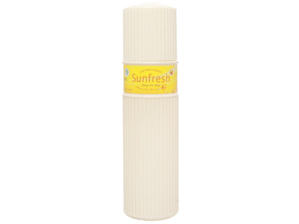 Nước hoa xịt phòng Sunfresh hương hoa hồng 380ml 1