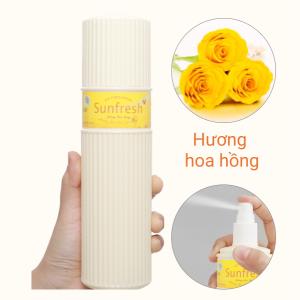 Nước hoa xịt phòng Sunfresh hương hoa hồng 380ml