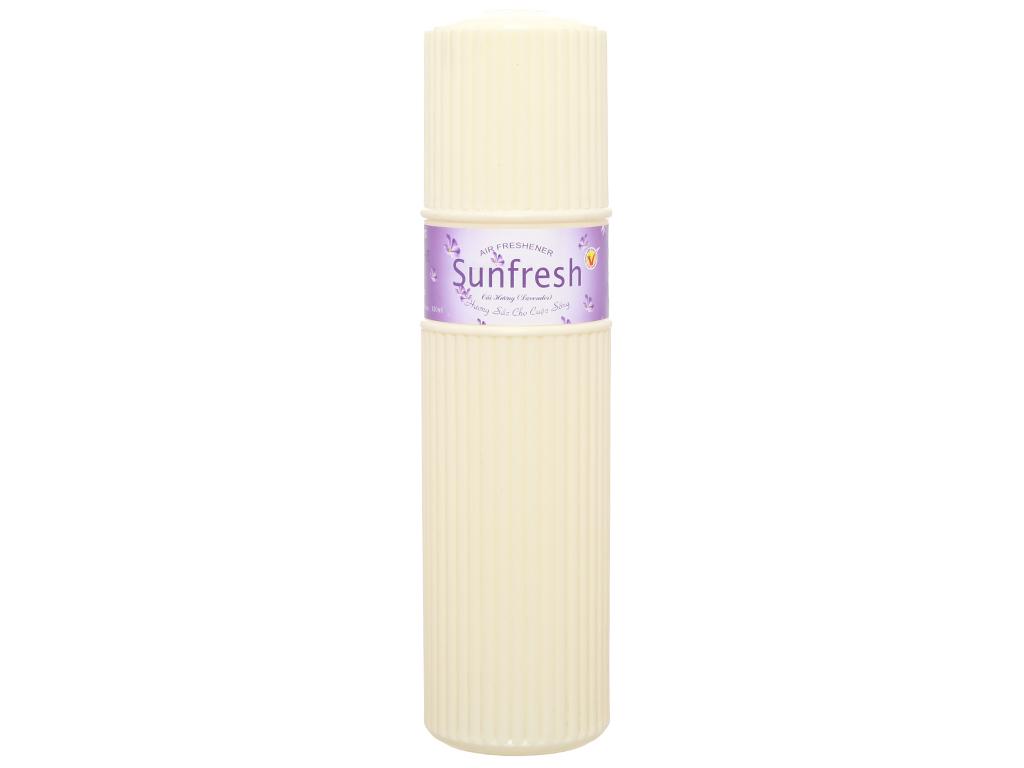 Nước hoa xịt phòng Sunfresh hương hoa oải hương 380ml 1