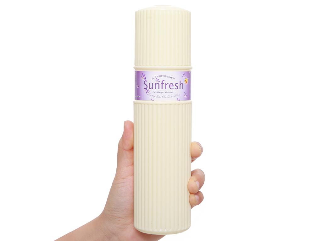 Nước hoa xịt phòng Sunfresh hương hoa oải hương 380ml 5