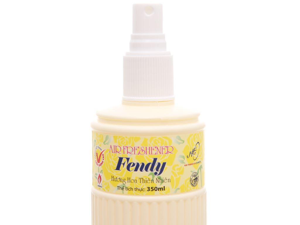 Nước hoa xịt phòng Fendy hương hoa thiên nhiên 350ml 4