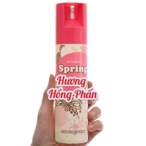 Xịt phòng Spring hương hồng phấn 280ml