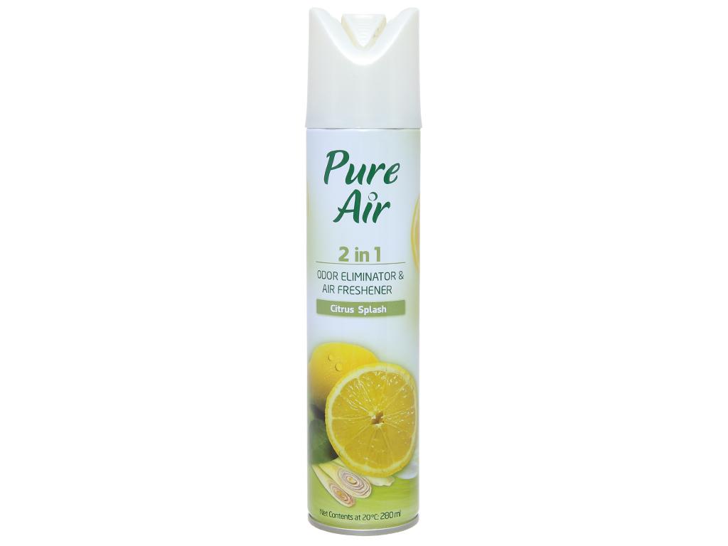 Xịt phòng Pure Air hương chanh 280ml 1