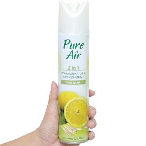 Xịt phòng Pure Air hương chanh 280ml